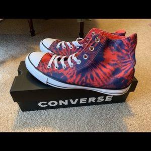 Converse 'tie-dye' high tops